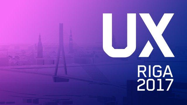 UX Riga konference